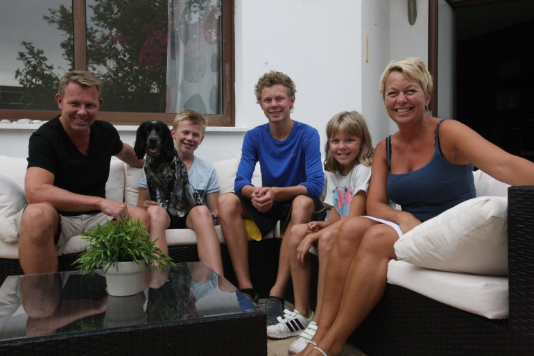 The Waegger family.