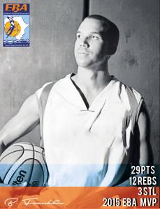 Bryan 'Sakhile' Franklin eThekwini Basketball Association MVP 2015