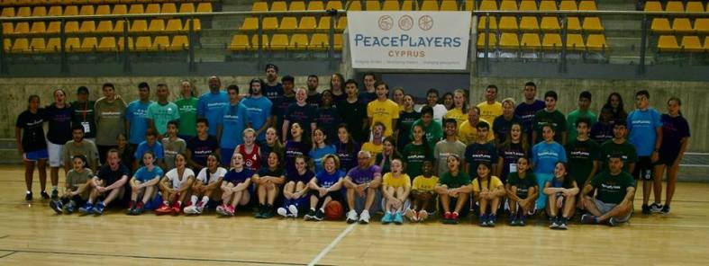 A group picture from the Lead4Peace Summer Camp.