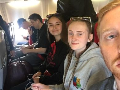 Plane to Bucharest