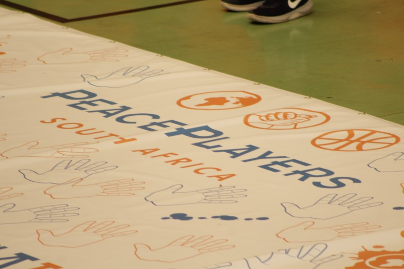 Day 1 - Hands Banner Before It Was Marked